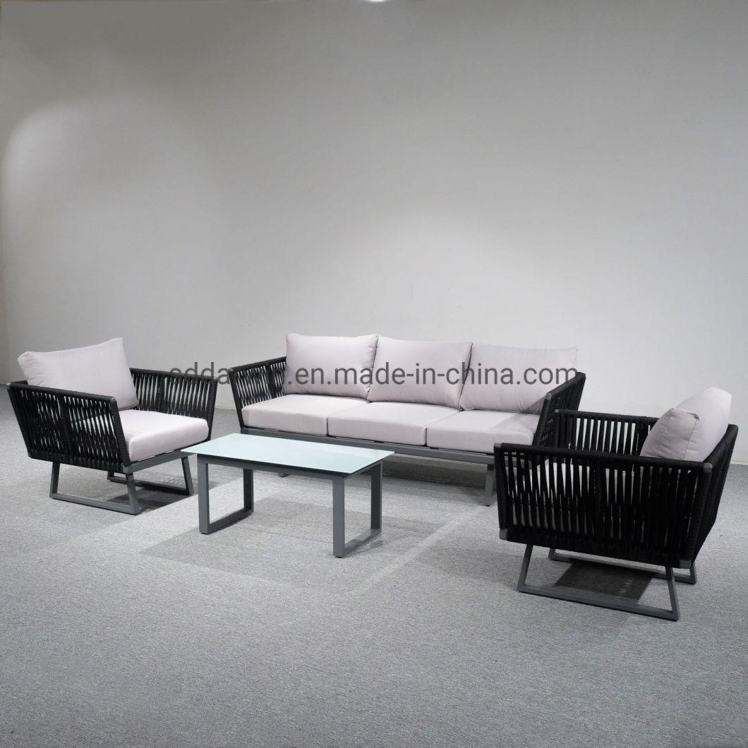 Outdoor Garden Aluminum Sofa Lounge