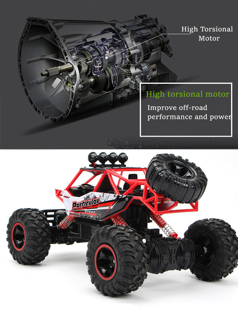 RC Car 4WD Remote Control High Speed off-Road Car Toys