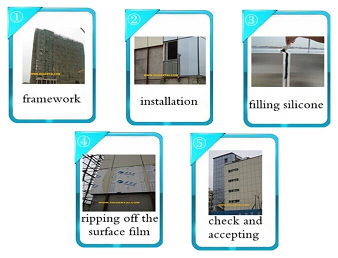 China Factory PVDF Aluminum Composite Panel for Hotel Decotation