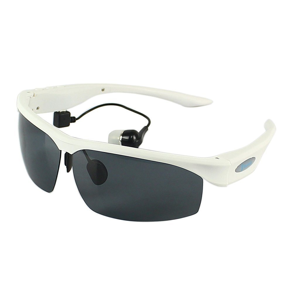 Bluetooth Sunglasses Headpho<em></em>nes Sports Polarized Glasses Headset with MP3 Player for Smart Phone