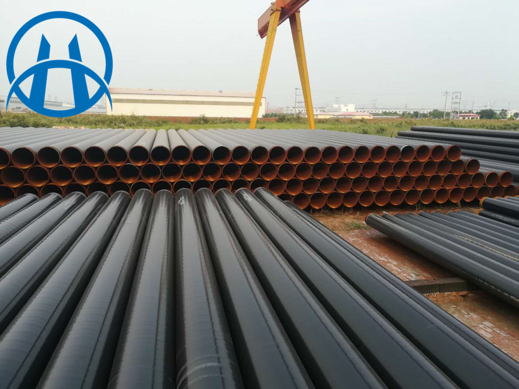 3 Layers PE Pipe, 3PE Coating Anti-Corrosion Spiral Steel Pipe, 3PE Anti Corrosion Seamless Steel Pipe