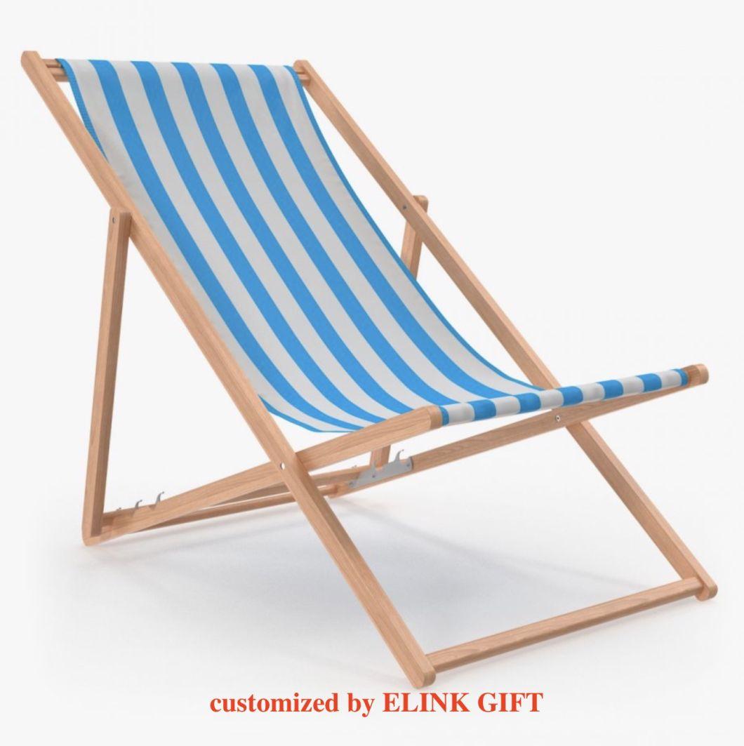 Customized Printing Fabric Wood Beach