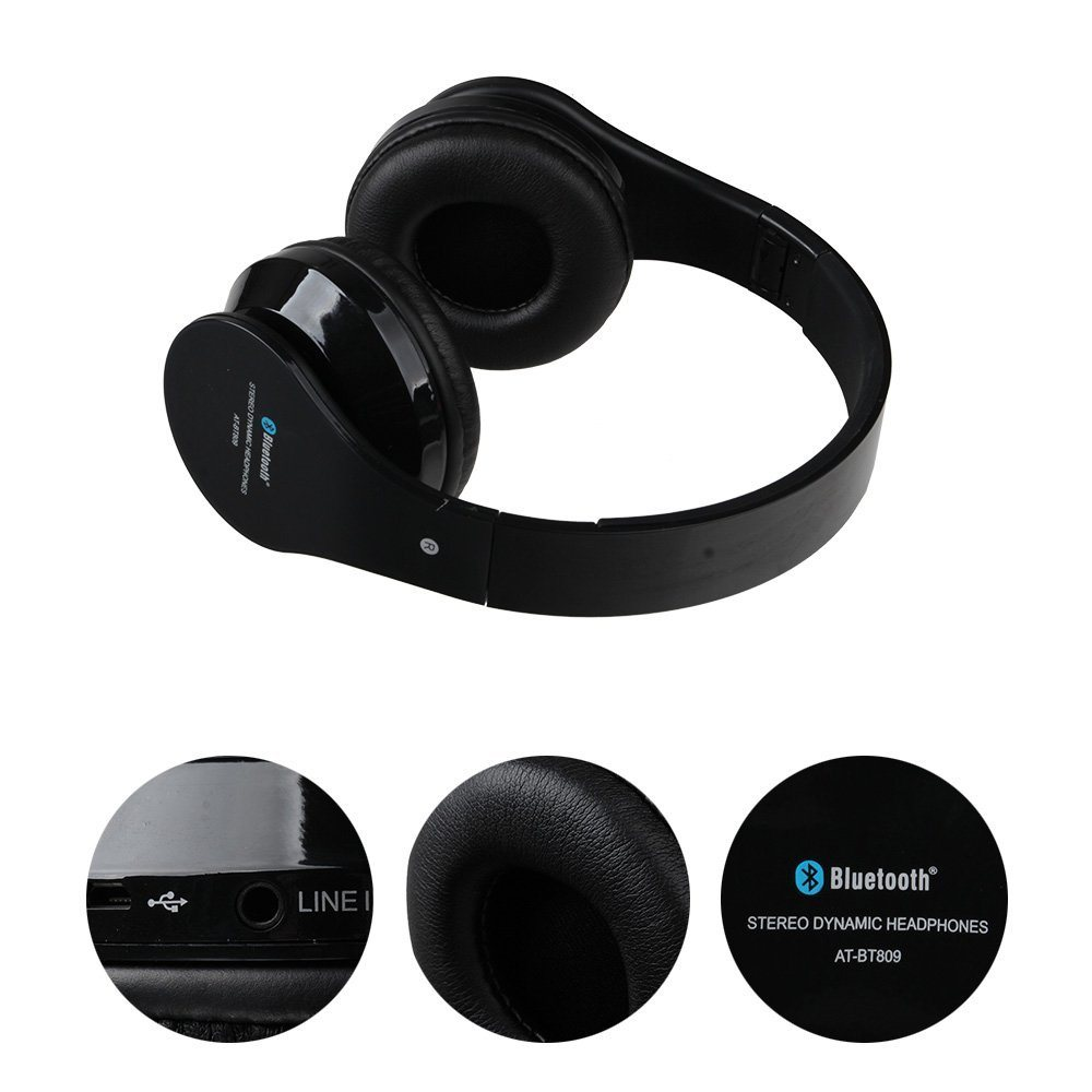 Bt809 Bluetooth 4.2 Tws Earphones with Box Charge Case Wireless Earphones Music Headphone