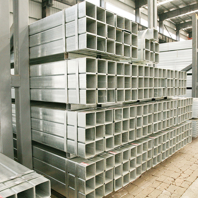 Gi Steel Tube/ Pre Galvanized Square Steel Pipe/ Galvanised Fence Tubing