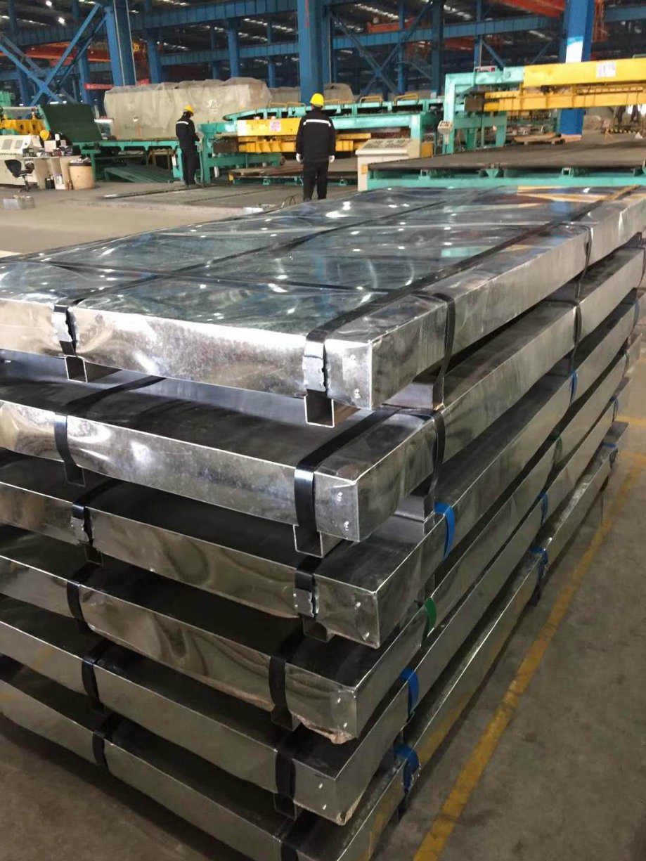 SGCC Zinc Coating Galvanized Steel Plate