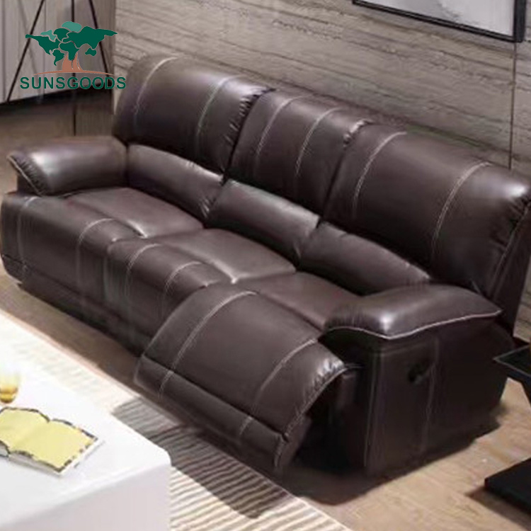 Factory Price 4 Seater Leather Sofa