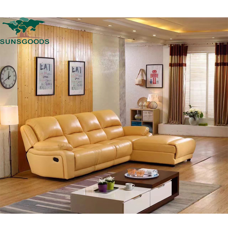 Electric Recliner Corner Sofa
