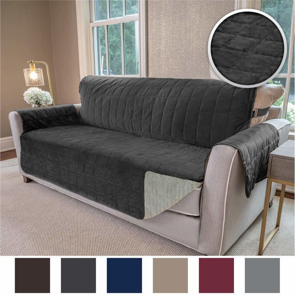 Suede Cloth Waterproof Anti Slip Sofa