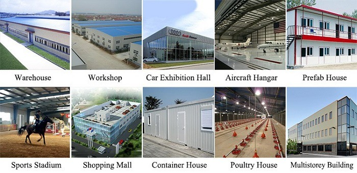 China Factory Supply Anti-Earthquake Structure Steel Fabrication Workshop Layout