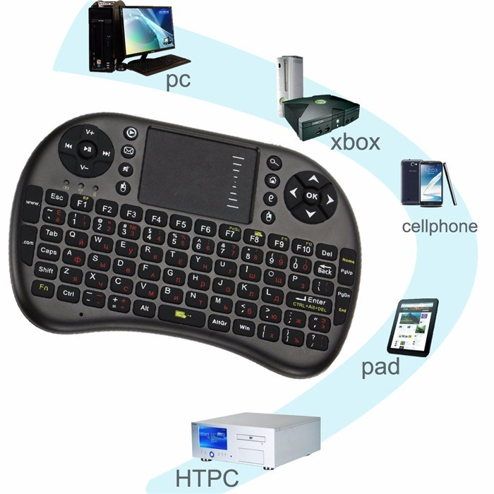 Best Selling I8 Mini Keyboard Backlit Air Mouse Remote