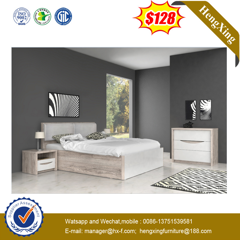 China New Design Queen Size Bedroom Furniture Sets Mdf Bed