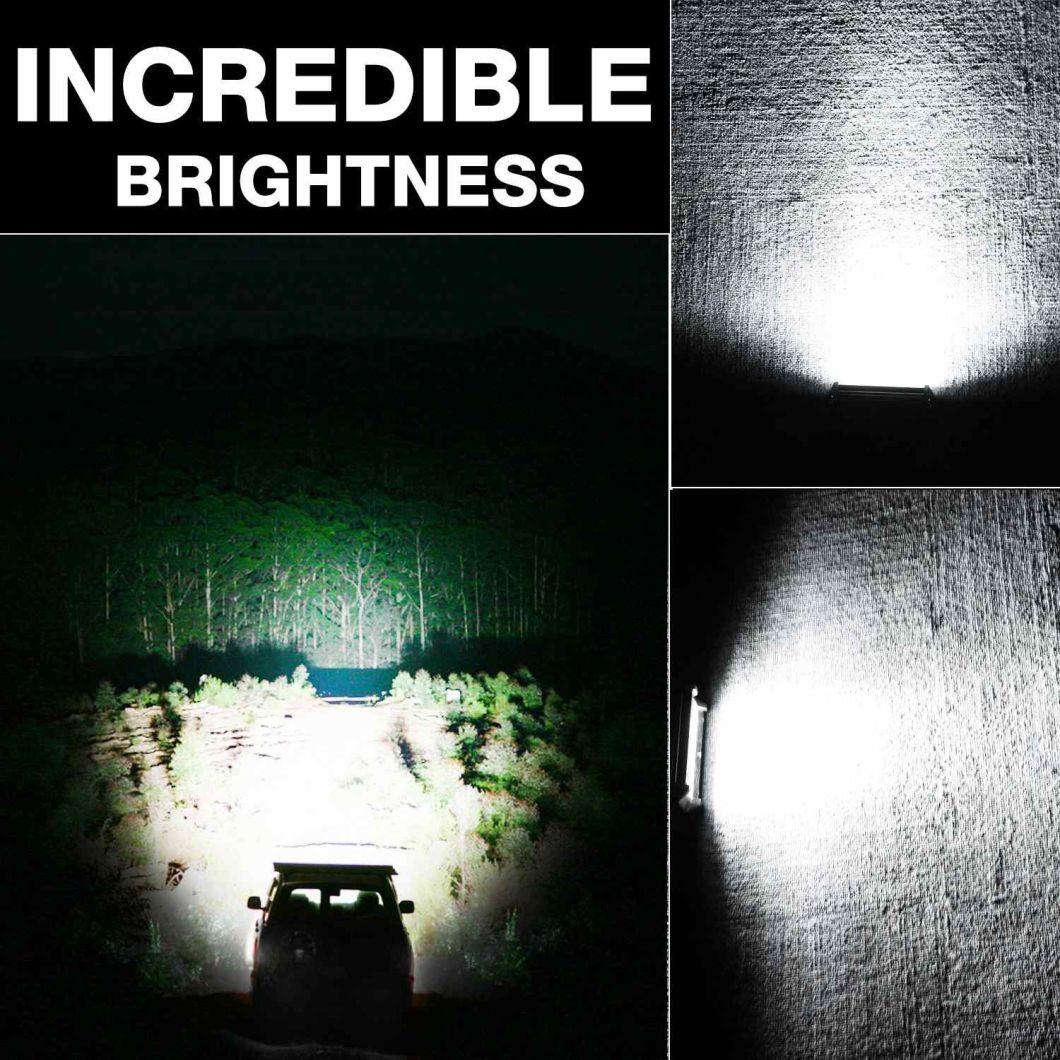 Ce EMC RoHS 9 Inch 168W 4 Row LED Light Bar with Spot/Flood/Combo Beam
