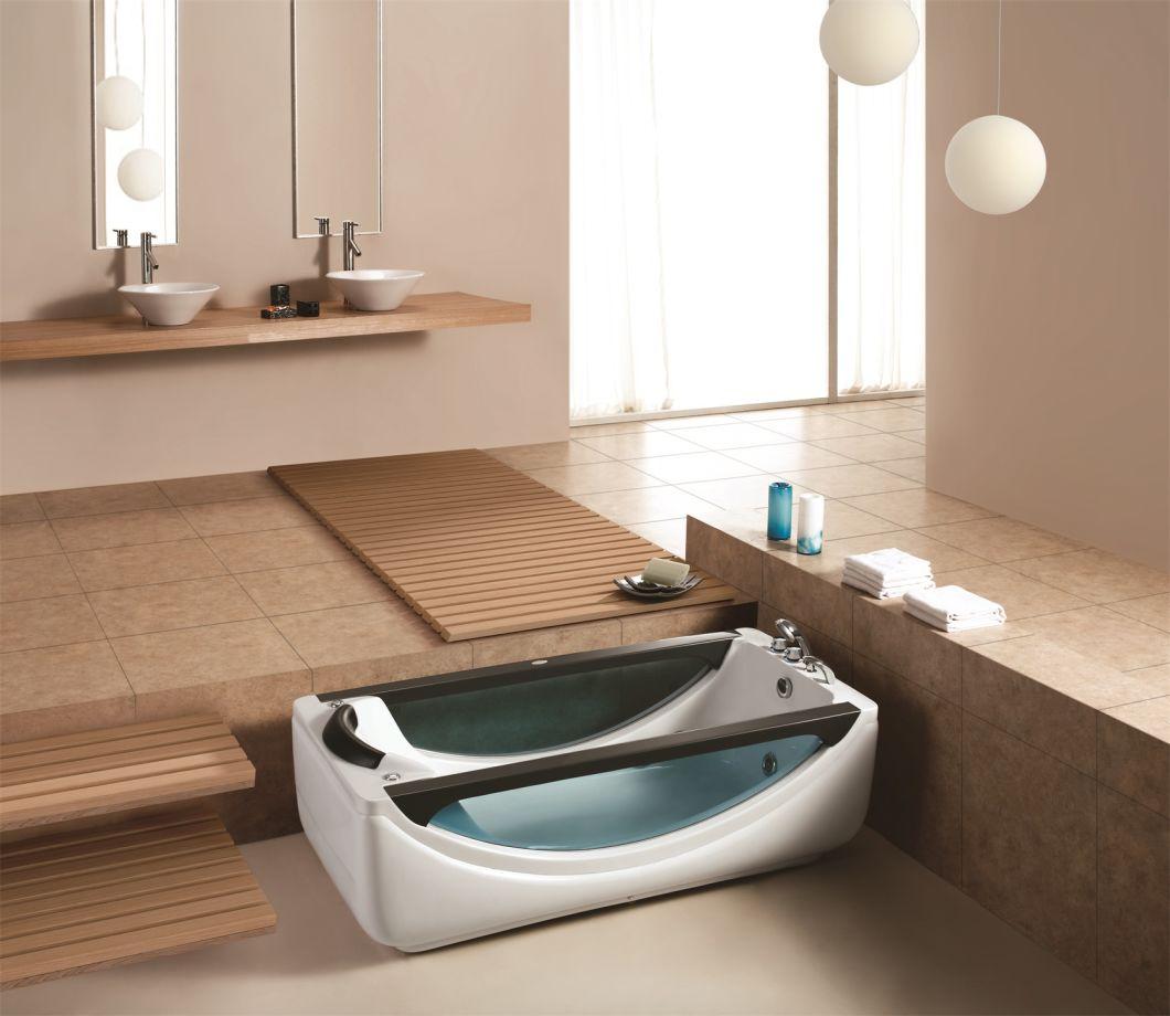Bồn tắm massage trong nhà hình chữ nhật Monalisa (M-2045)
