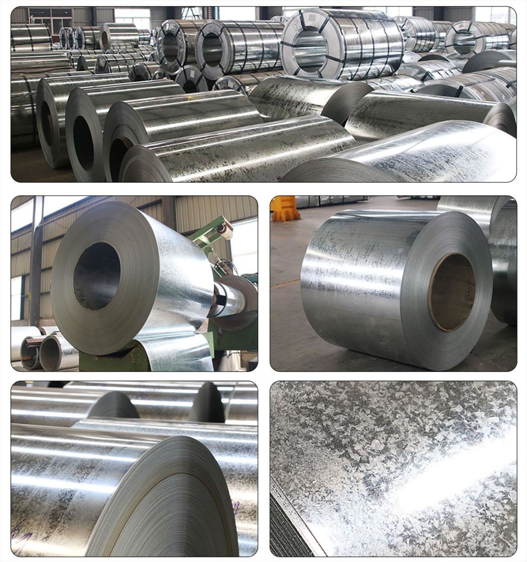 Aiyia Galvanized/Galvalume Steel Plain Sheet with Zinc Spangle and Anti-Finger Cold Rolling Steel Plate