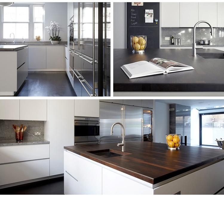 China Modern Style White UV Lacquer Luxury Kitchen Island ...