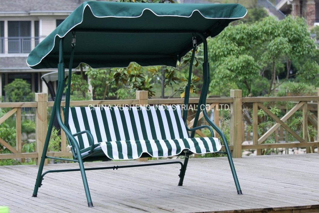 China Modern Outdoor Garden Patio 3 Seater Swing Chair