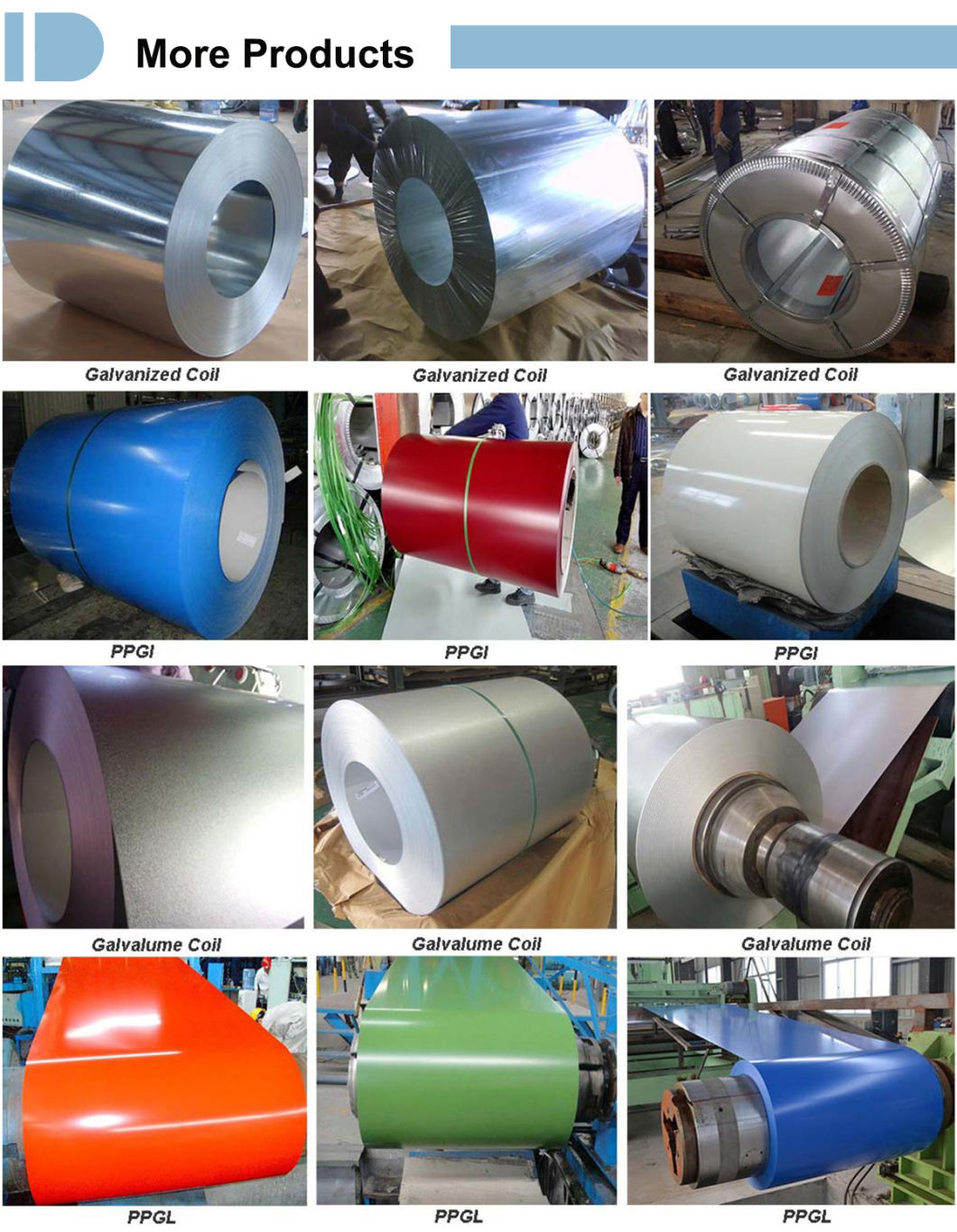 Hot Dipped Galvanized Steel Coil Metal