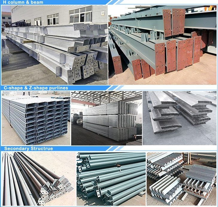 China Large Long Span Steel Structure Frame Truss China