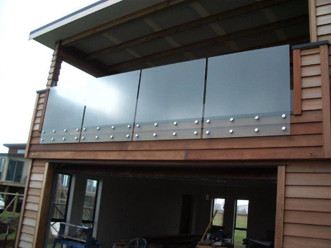 China Stainless Steel Railing Glass Railing Designs ...