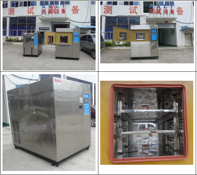Standard High Low Temperature Environmental Thermal Shock Test Equipment