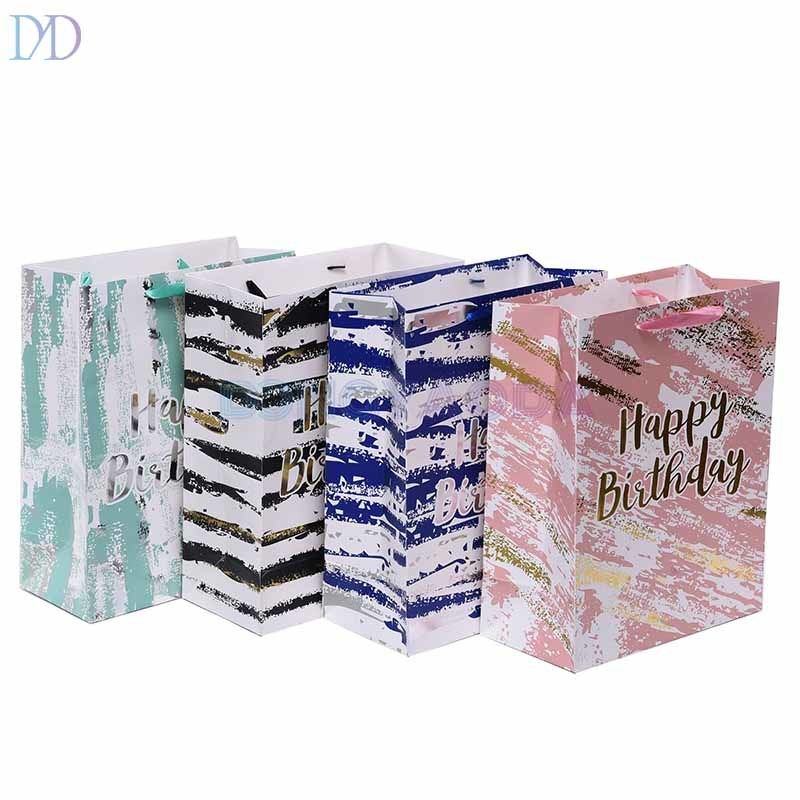 Pink Color Printing Birthday Gift