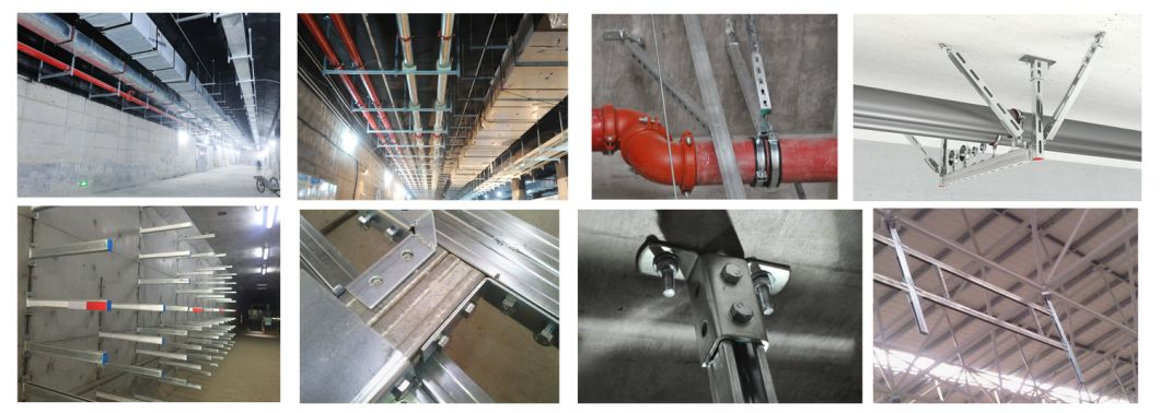 41 X 41 Pre- Galvanized Unistrut Steel Slotted Strut Channel