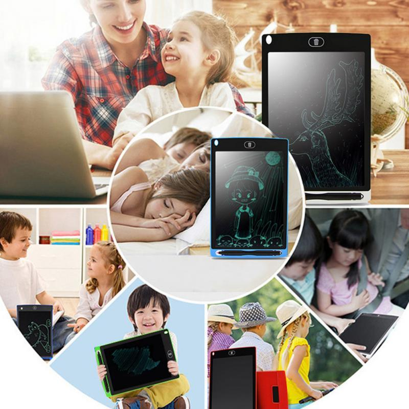 12 Inch Portable Smart LCD Writing Tablet Electronic Notepad Drawing Graphics Tablet Board