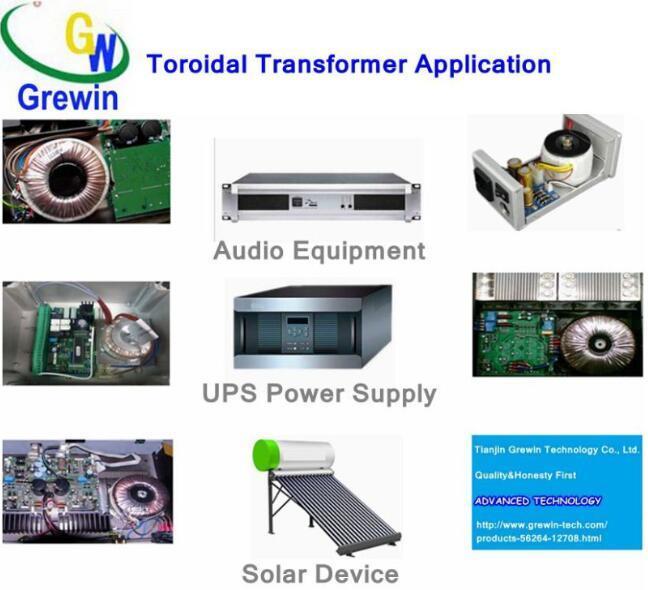 Power Toroidal Transformer for Solar Technology