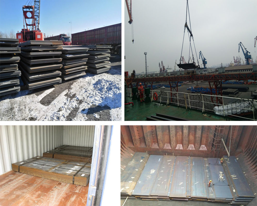 ASTM A36 A283 S235jr Hot Rolled Carbon Steel Plate for Constrution