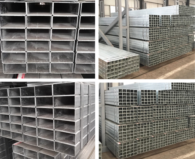 En10219 Square Galvanized Steel Tubing for Structural