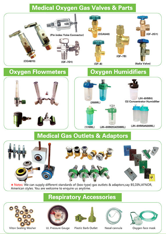Oxygen Gas Cylinder Valve Qf-6A