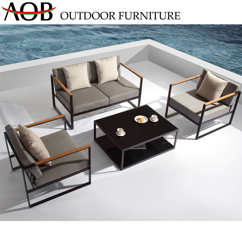 Super China Home Modern Hotel Sofa Outdoor Garden Furniture Aluminium Table Single Double Sofa Set China H Theyellowbook Wood Chair Design Ideas Theyellowbookinfo