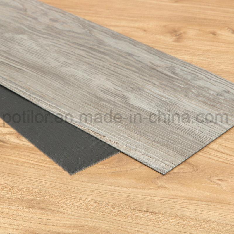China Luxury Vinyl Tiles Commercial Wood Plank Flooring