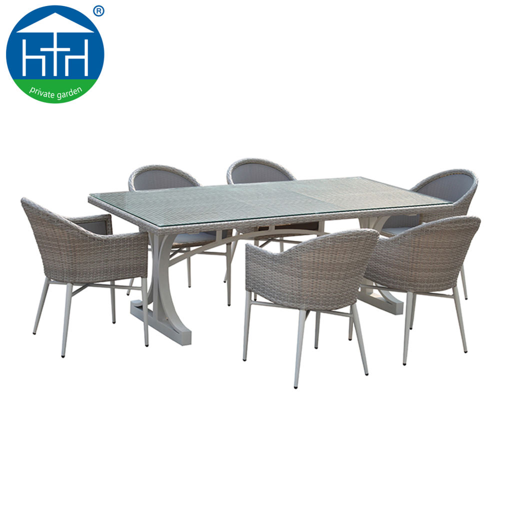 China Garden Furniture Rattan Table Chairs Cafe Table Set For Outdoor Dining Table Table From China On Topchinasupplier Com