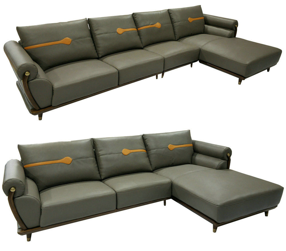2019 New Arrival Ciff Furniture Modern Leather Sofa (B10)