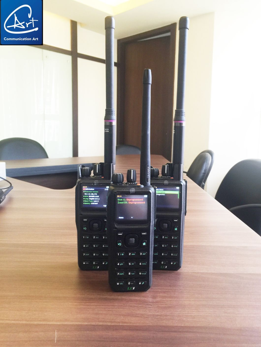 37-50MHz Two Way Handheld Radio in Low VHF Band