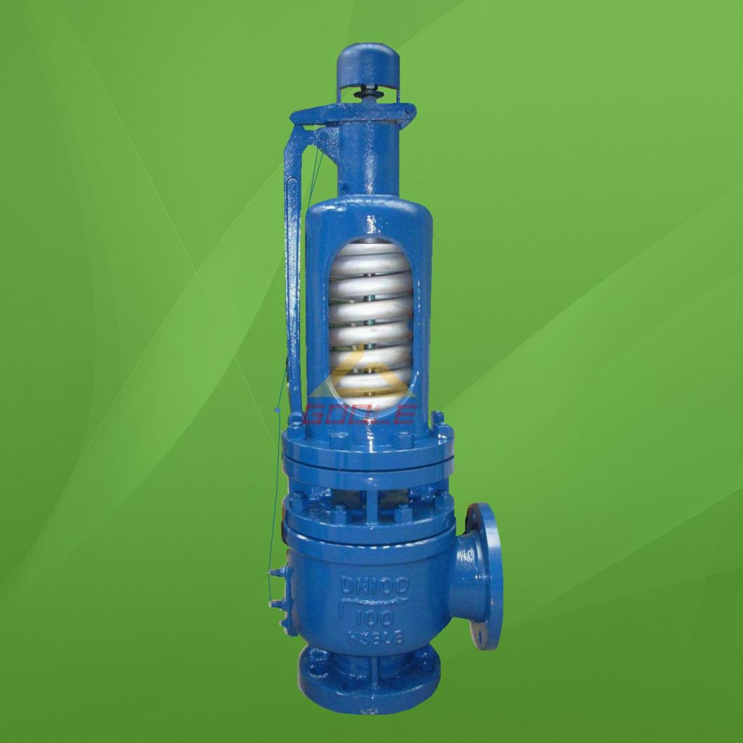 Spring Loaded High Temperature and High Pressure Safety Valve A48sh with Test Tag