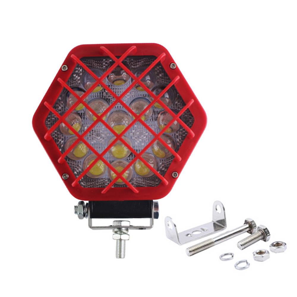 2019 Hot Sale Cheapest 5inch 40W 12V LED Square 4X4 ATV Offroad Spot LED Work Lights