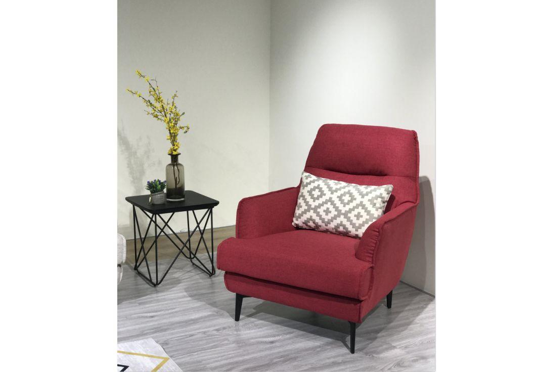 Nordic Single Sofa Chair Custom Sofa Leisure Sofa Bedroom Furniture