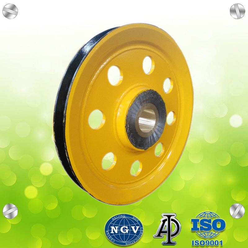 China Steel Wire Rope Sheave Pulley for Crane Pulley Wheel - China ...