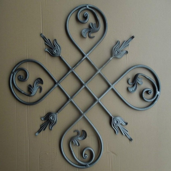 China Decorative Interior Wrought Iron Stair Baluster