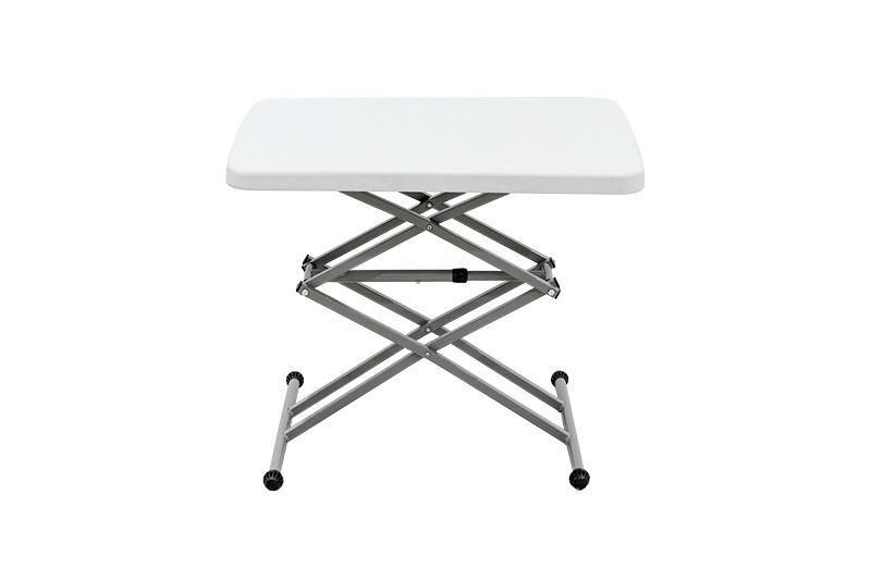 Plastic Adjustable Small Computer Folding Table