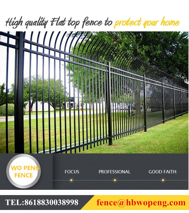 China Custom Spear Top Fence Gates