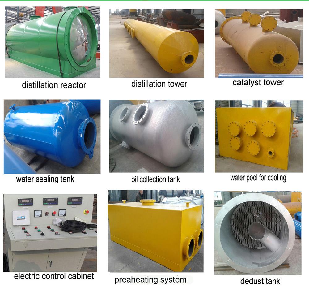 Distillation Equipment Refining Used Oil