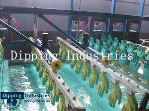 40m Safety Glove Dipping Machine /Latex Nitrilr PU PVC Glove Coated Line