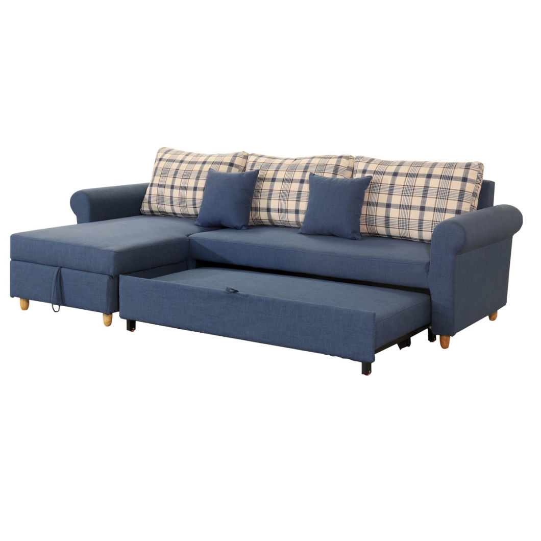 Folding Sofa Bed With Storage Box 3068