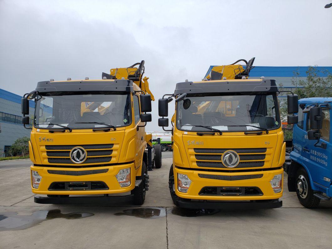China 3ton Truck Lorry Crane Truck Articulated Boom Mounted Truck Crane