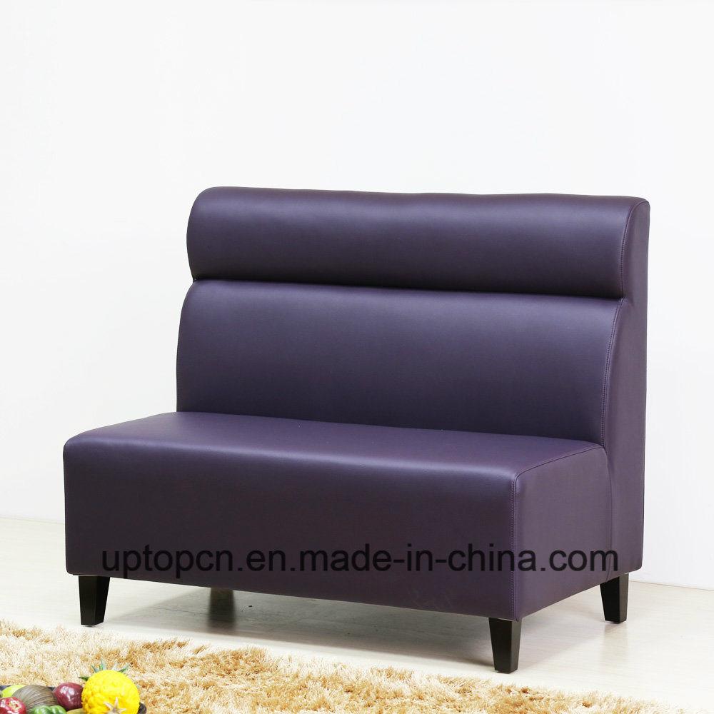 China (SP-KS242) Custom Leather Long Corner Banquette Sofa ...