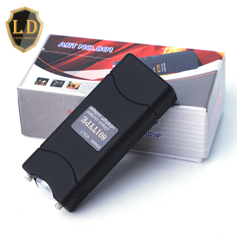 Small Balack Taser (LD-801) with Electric Shock for Self Defense