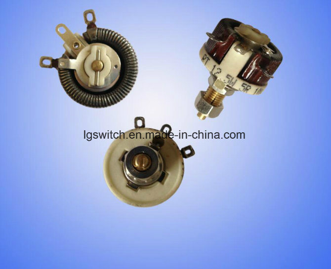 Rt Series 12.5W to 300W Wirewound Rheostat